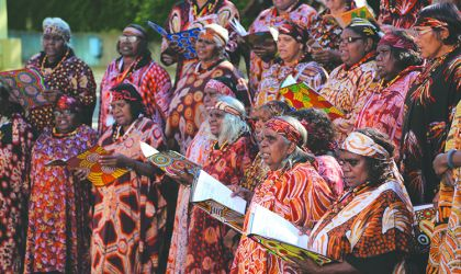 Cover image for 'Central Australian Aboriginal Women's Choir'