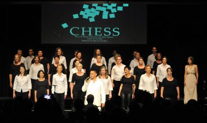 Cover image for 'Chess in concert'