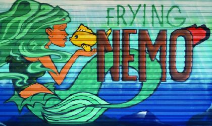 Cover image for 'Frying Nemo'