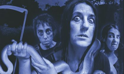 Cover image for 'HILLBILLY HORROR - A COMEDY OF TERRORS'