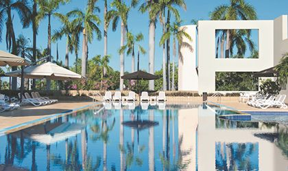 Cover image for 'Holiday Here At Hilton'