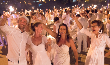 Cover image for 'Dîner en Blanc'