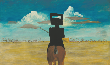 Cover image for 'Art & About: Sidney Nolan's Ned Kelly series'