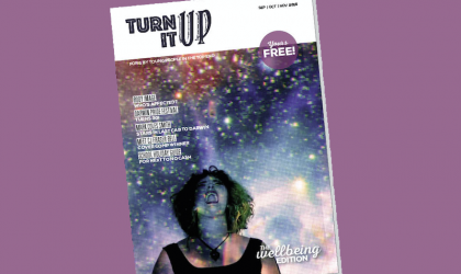 Cover image for 'Introducing Turn It Up - the Top End's New Youth Zine!'