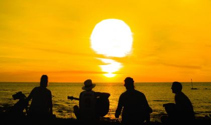 Cover image for 'Sounds @ Sunset'